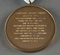 View Medal, AIAA Lawrence Sperry Award (and case), Sally Ride digital asset number 2