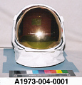 View Visor, Extravehicular, Apollo, A7-L, Apollo 11, Armstrong, Flown digital asset number 2