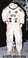 View Pressure Suit, A7-L, Aldrin, Apollo 11, Flown digital asset number 2