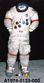 View Pressure Suit, A7-LB, Cernan, Apollo 17, Flown digital asset number 4