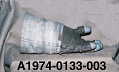 View Glove, Left, A7-LB, Extravehicular, Apollo 17, Cernan, Flown digital asset number 5