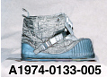 View Boot, Left, Lunar Overshoe, Cernan, Apollo 17, Flown digital asset number 12