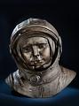 Bronze bust of Yuri Alekseyevich Gagarin