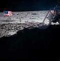 Apollo 11 Armstrong on Moon