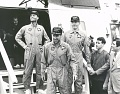 Apollo 13 Astronauts on the U.S.S. Iwo Jima