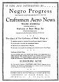 "Flyer: ""Interested in Negro Progress"""
