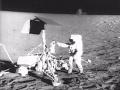 Alan Bean Retrieves Surveyor 3 Camera