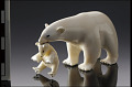View Figure of a polar bear and cub digital asset number 0