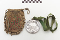 View Abraham Lincoln peace medal (dated 1862) and pouch digital asset number 3