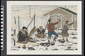 View Eskimo Celebrating Dancer [Eskimo Celebration Dance at the End of World War II] digital asset number 0