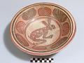 View Tripod bowl with rabbit design digital asset number 0