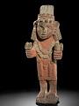 View Figure of Chicomecóatl (the maize goddess) digital asset number 0