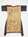 View Dress painted with men's battle exploits digital asset number 1