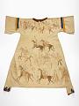 View Woman's dress depicting Hunkpapa Lakota battles with the Arikara digital asset number 0