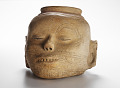 View Vessel in the form of a human head digital asset number 2