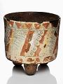 View Cylindrical tripod jar digital asset number 0