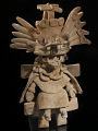 View Figure of a priest wearing a Tláloc mask digital asset number 0