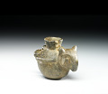 View Miniature jar in the form of an owl digital asset number 1