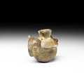 View Miniature jar in the form of an owl digital asset number 2