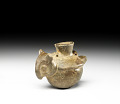 View Miniature jar in the form of an owl digital asset number 3