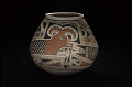 View Jar with feathered serpent design digital asset number 2