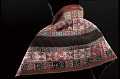 View Shawl with designs of Inka leader Túpac Amaru II (1742-1781), condors, toads, birds, horses, and flowers digital asset number 2