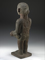 View Chinampanec-style statue of Xipe Totec (god of spring and agriculture), with glyph representing the date 1 Acatl (A.D. 1507) digital asset number 2