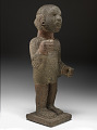 View Chinampanec-style statue of Xipe Totec (god of spring and agriculture), with glyph representing the date 1 Acatl (A.D. 1507) digital asset number 3