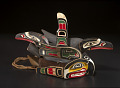 View Chief's headdress representing a killer whale with a raven on his back digital asset number 1