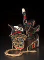 View Chief's headdress representing a killer whale with a raven on his back digital asset number 2