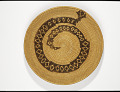 View Tray with rattlesnake design digital asset number 0