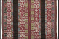View Shawl with designs of Inka leader Túpac Amaru II (1742-1781), condors, toads, birds, horses, and flowers digital asset number 1