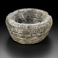 View Bowl used to hold hearts of sacrificial victims digital asset number 0