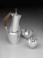 View Coffee pot, sugar bowl, and creamer digital asset number 2