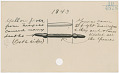 View Calendar stick documenting events from 1833 to 1921 digital asset number 24