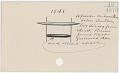 View Calendar stick documenting events from 1833 to 1921 digital asset number 29