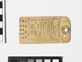 View Ration ticket/card and case digital asset number 0