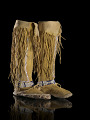 View Girl's legging moccasins digital asset number 2
