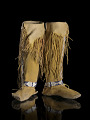View Girl's legging moccasins digital asset number 0