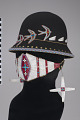 View Face covering/Face mask, hat, and earrings digital asset number 0