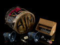 View Drum, amplifier, and accessories digital asset number 0
