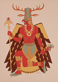 View Mississippian Style Warrior digital asset number 1