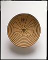 """View Basket tray with """"Man in the Maze"""" design digital asset number 0"""