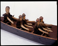 View Canoe model with figures digital asset number 2