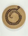 View Tray with rattlesnake design digital asset number 1
