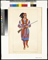 View A Seminole chief, 1810 digital asset number 0
