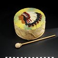View Drum and drumstick digital asset number 0
