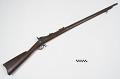 View Springfield Model 1873 .45 caliber trapdoor rifle digital asset number 0