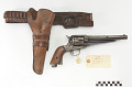 View Remington .45 caliber revolver, belt, and holster digital asset number 0