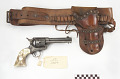 View Colt Frontier .44 caliber revolver, holster, and belt digital asset number 1